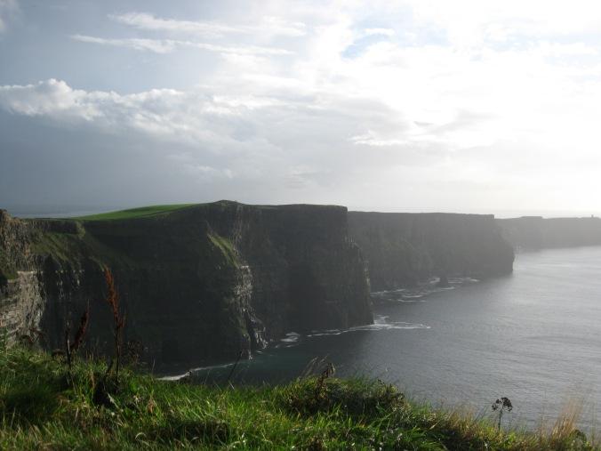 Irish coastal scene