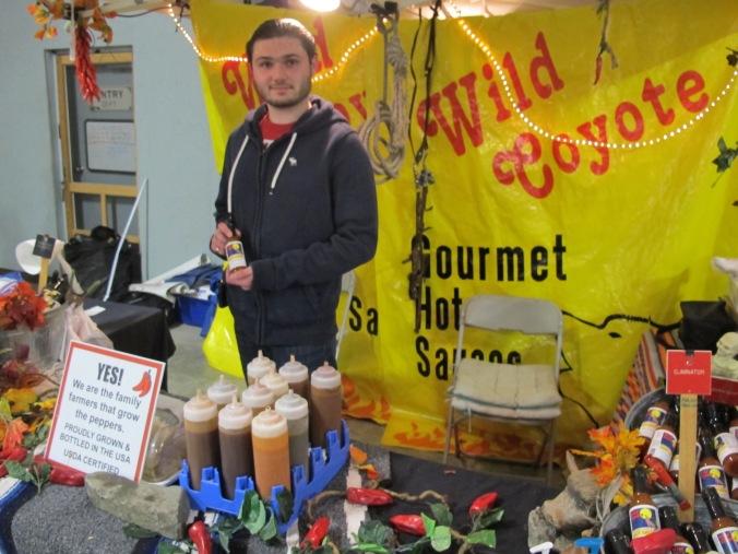 Wild Coyote hot sauce