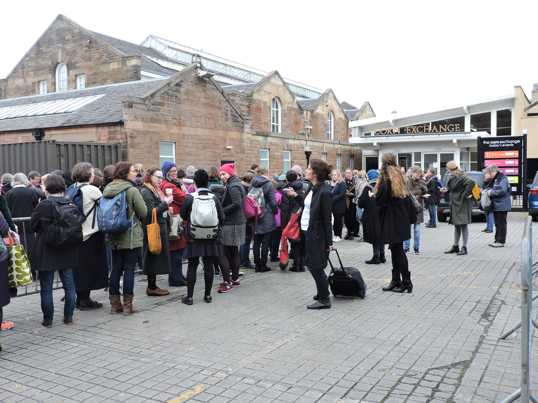 The Edinburgh Yarn Festival | Explorations In Place