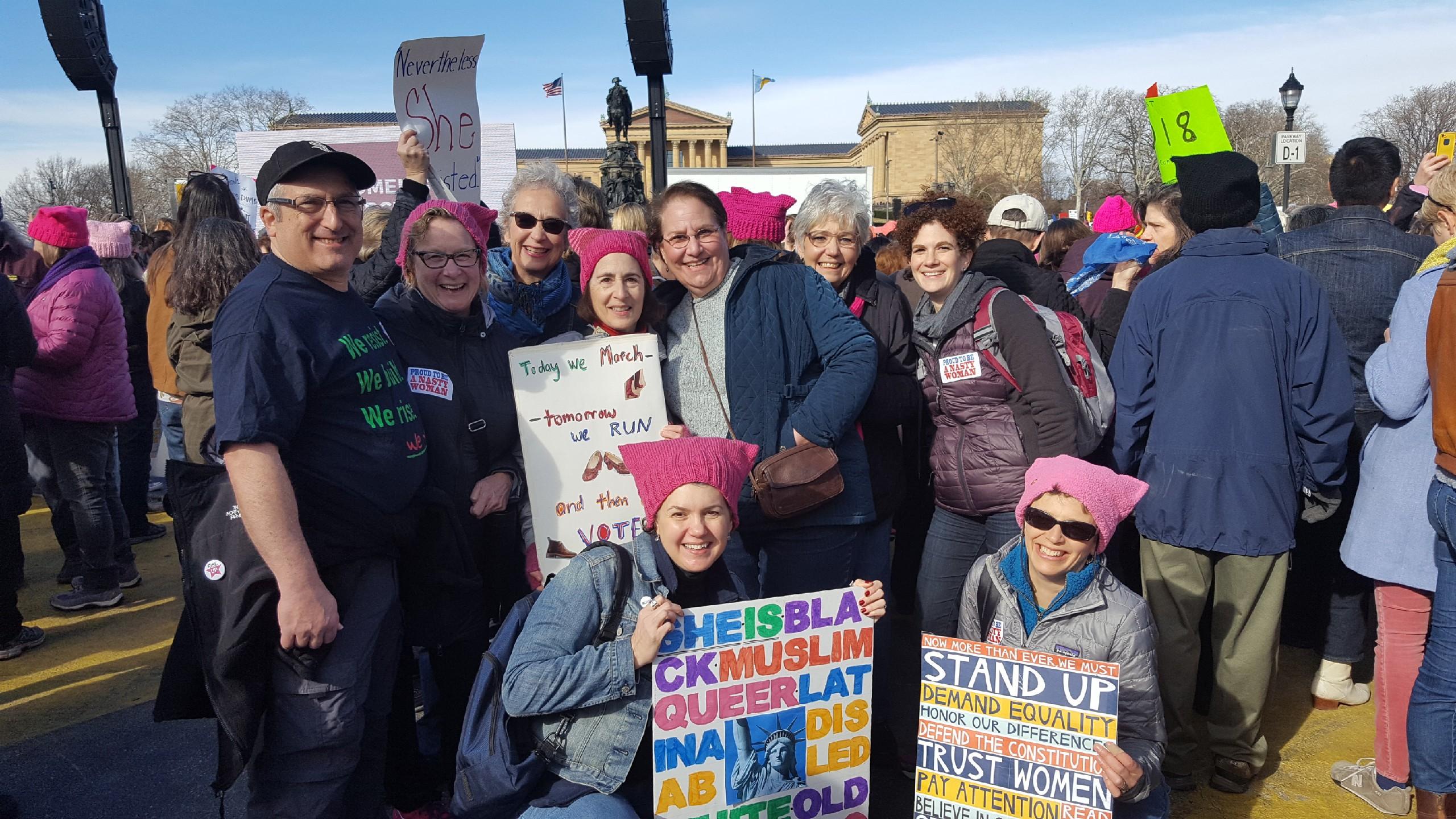 ce1beaf10e6d96 Pink Hats Womens March 2018